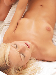 Grace Hartley and Marry Queen turn a sexy massage into a chance to explore each others pussies with tongues and fingers