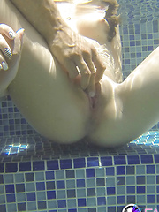 Jacuzzi fun with Natalie Heart