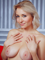 The busty Isabella D with the charming smile