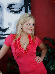 Alexis Texas can`t stand the fact her friend keeps sending her brother Billy to pick her up after work